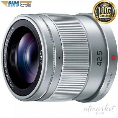 Panasonic single focal middle telephoto lens Micro Four Thirds G 42.5 mm/F1.7