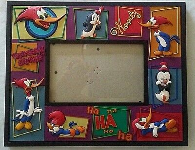 Woody Woodpecker Picture Frame Walter Lantz Chilly Willy Universal Studios