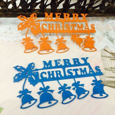 Christmas Bell Cutting Dies Stencil DIY Scrapbooking Embossing Paper Card Decor