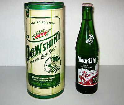 50 Year Collection - Mountain Dew 'Ed and Gene' 1965 and 2015 Unopened DewShine
