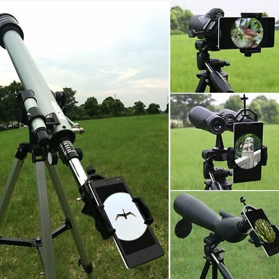 Phone Cam DVR Adapter Telescope Spotting Scope Mount Holder for iPhone Samsung