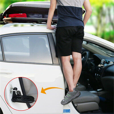 Folding Car Door Latch Hook Step Foot Pedal Ladder for Jeep SUV Truck Roof