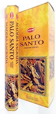 HEM PALO SANTO BULK INCENSE STICKS - 25 Packets - 200 Sticks