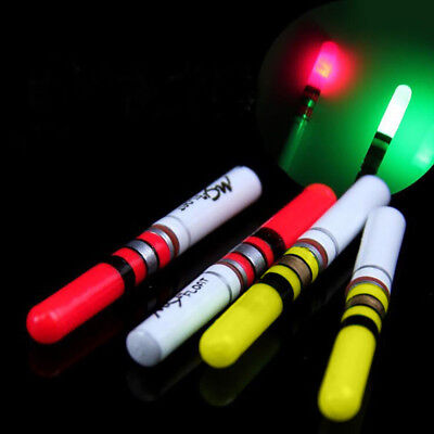 Led Fishing Night Light Stick Float Fluorescent Bright Color Accessory Alluring