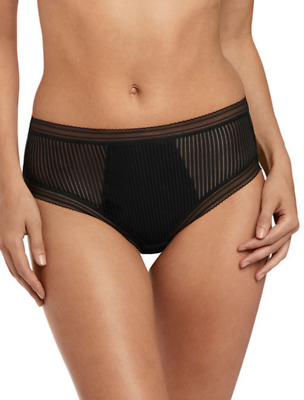 Fantasie Fusion Briefs High Waist Knickers Panties FL3098 Black Various Size NEW