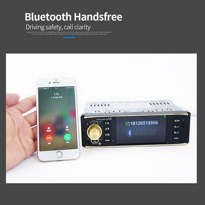 Bluetooth Car Stereo Audio In-Dash Aux Input Receiver SD MP3 Radio Music Player