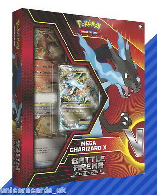 Pokemon TCG: Battle Arena Deck - Mega Charizard X :: Brand New And Sealed!