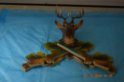 Cuckoo Clock Topper with Antler set of 1 for project or parts