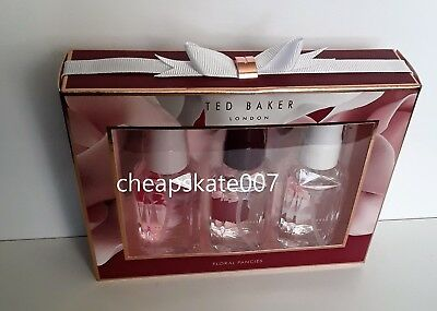 Ted Baker Floral Fancies Mini Body Spray Trio Gift