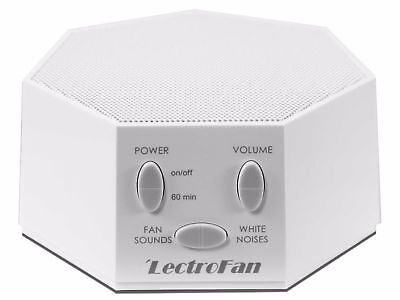 LectroFan Sound Machine with 20 Unique Non-Looping Fan and White Noise Sounds
