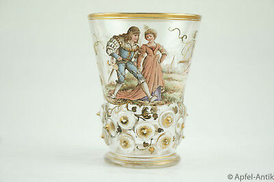 Glas Historismus Um 1880  -  Glass Historicism Around 1880