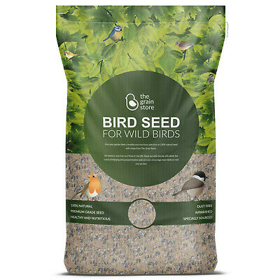 Bird Food Wild Bird Seed Mix 20KG for All Year Round from The Grain Store