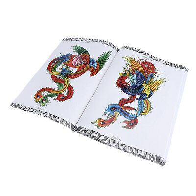 Impressionnant Dragon et Phoenix Tattoo Body Art Designs Livre de coloriage