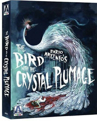 The Bird with the Crystal Plumage Limited Edition OOP Blu-ray (Arrow) UK NEW