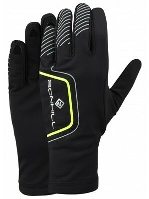 Ronhill Run Glove Outdoor Running Training Thermal Reflective & Finger Grips