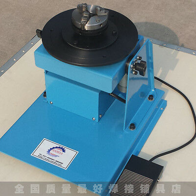 120V 10KG Automatic Welding Positioner with 60mm 3-jaw Chuck