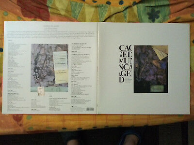 LP John Cage Caged/Uncaged FIRST PRESS near MINT, Lou Reed, Ramones,Avantgarde