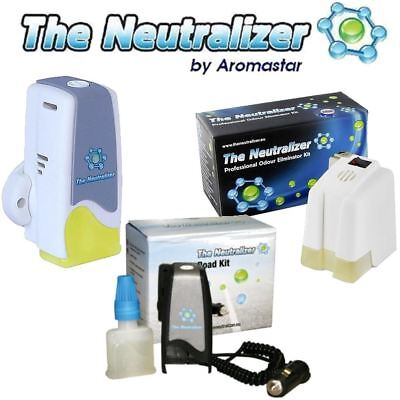 The Neutralizer - Pro, Compact & Road Kit - THE BEST PET/SMOKE ODOUR ELIMINATOR