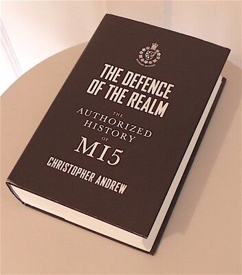 Book 'Defence Of The Realm' by Christopher Andrew on MI5