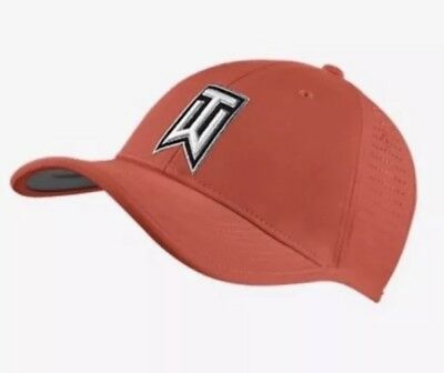 d9ab1f374b9 Nike Tiger Woods Golf Vented Hat Strapback Red 726291 696 Adult Unisex