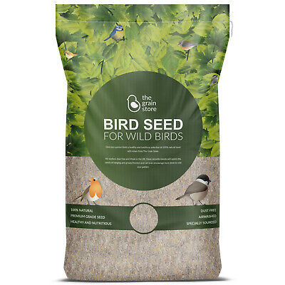 20KG Wild Bird Food High Energy Blend with Suet Pellets from The Grain Store