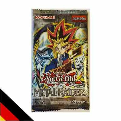 Metal Raiders (MRD) Booster Deutsch NEU & OVP YU-GI-OH!