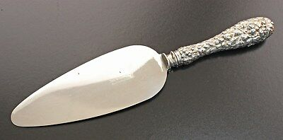 Stieff Sterling Handled Stieff Rose Pie Server