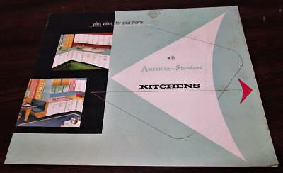 Vintage 1953 American Standard Plumbing Fixtures Kitchens Dealer Catalog P