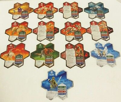 Heroscape 13 Army Cards Replacement Pieces Master Set Swarm Of The Marro