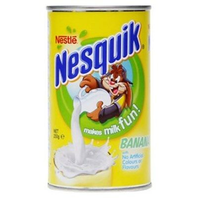 (OUT OF STOCK) 12x NESTLE NESQUIK BANANA POWDER TIN 250GM  (OUT OF STOCK)