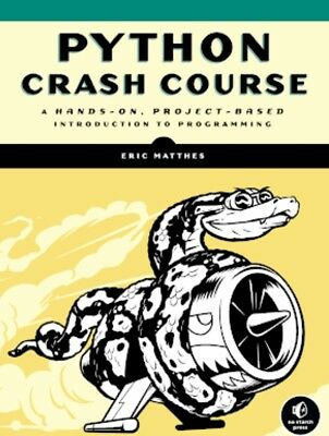 Python Crush Course....PDF High Quality.... Read Description For More...