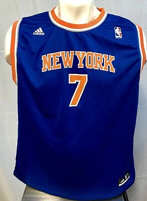 0e90a82fc56 NBA ADIDAS CARMELO Anthony New York Knicks Jersey Size Youth M Good ...