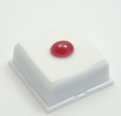 Rhodonite - 12x10mm Oval 6.1ct - Cabochon - Brazilian Rhodonite Cabochon