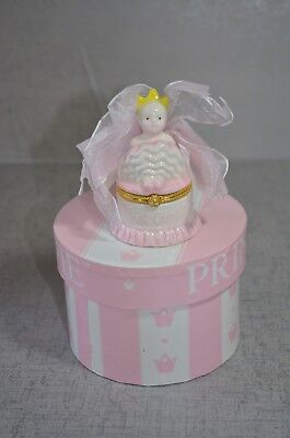 Mud Pie Princess First Curl Treasure Box Trinket Gift Girls