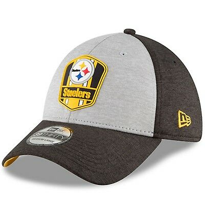 4a212ffe PITTSBURGH STEELERS NEW Era Gray/Black Sideline Road Official ...