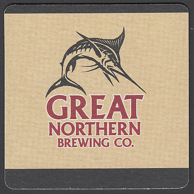 "2 x ""Great Northern Brewing Co"" Beer Coasters,  FRESH NEVER USED"