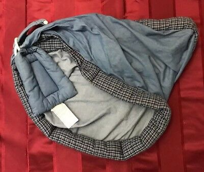 Nojo The Original Baby Sling Baby Carrier RN102074 Blue Plaid