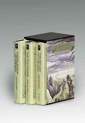 The Lord of the Rings by J.R.R. Tolkien (English) Boxed Set Book Free Shipping!