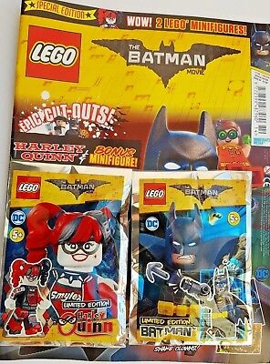 Lego Batman Special Edition #4 - 2018 ~ New With 2 Lego Sets ~