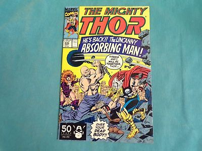 Comic Book Marvel Comics The Mighty Thor September 1991 #436