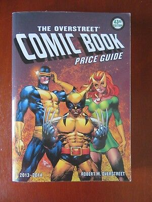 Overstreet Comic Book Price Guide 43rd edition 2013-2014 X-Men Cover Paperback