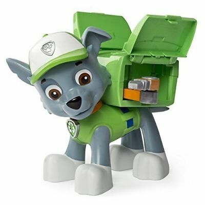 Paw Patrol Big Action Pup Toy, Rocky& Rubble Figure Transforms Nickelodeon Jumbo