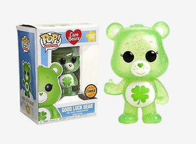 Funko Pop Animation: Care Bears - Good Luck Bear #26695 CHASE LIMITED EDITION