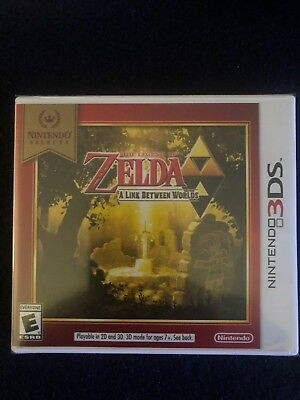 Legend of Zelda: A Link Between Worlds Nintendo Selects (Nintendo 3DS, 2018)