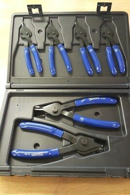 Williams PL-1606 6 Piece Set Combination Internal External Snap ring pliers