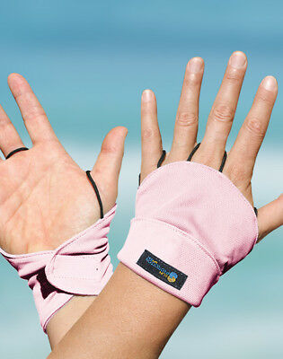 Palmless Gloves UPF50+ PINK Sun Protection