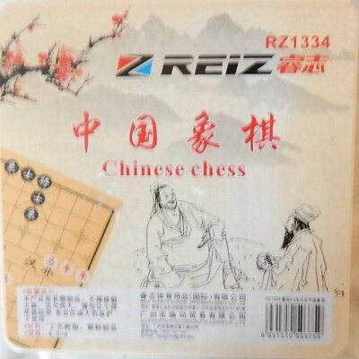 Xiangqi Chinese Chess Set - Stone Pieces , Plastic board