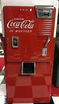 Vintage Coca Cola Westinghouse WC-42T Cooler Vending Machine