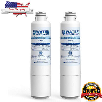 2 Refrigerator Water Filter Replacement Samsung Fridge DA29-00020A/B HAF-CIN/EXP