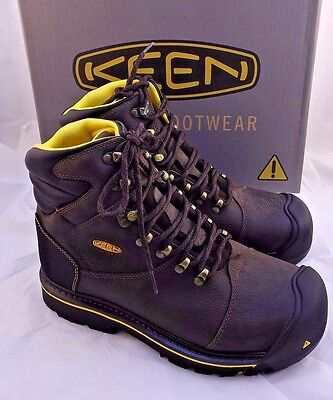 "NWB KEEN Size 11.5 D Utility MILWAUKEE Soft Toe Men's 6"" Work Boots RETAIL $150"